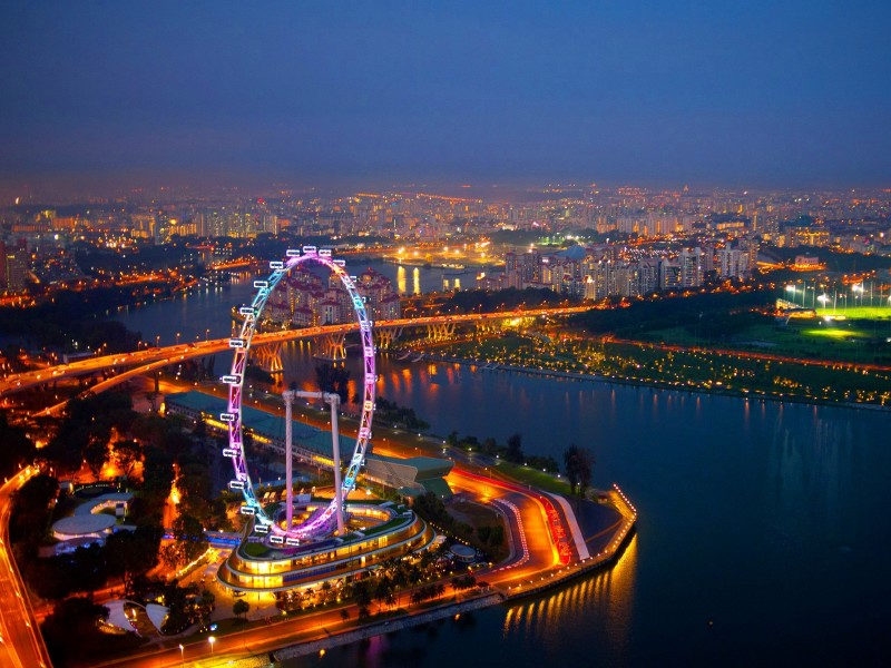 Singapore Flyer tour with TripDezire