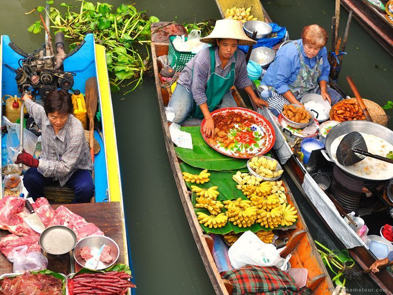 Damnoen Saduak Floating Market tour with TripDezire