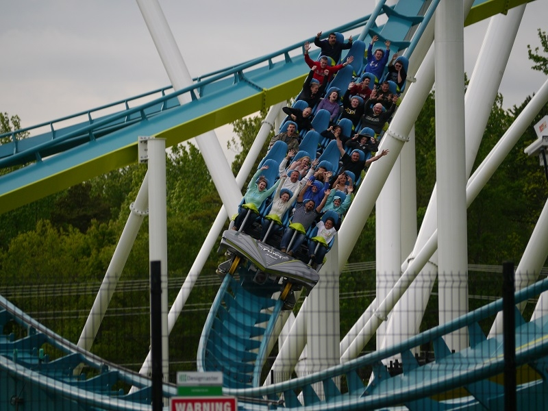 Fury 325 roller coaster tour with TripDezire