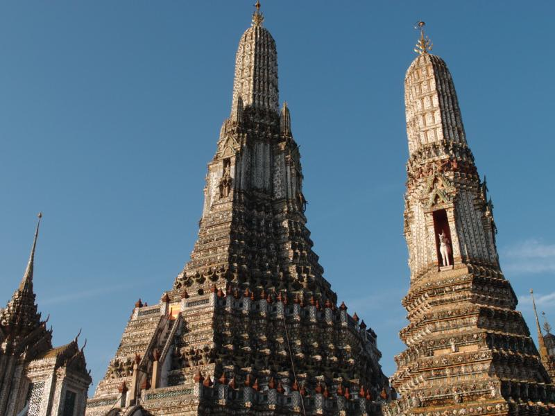 Wat Arun tour with TripDezire