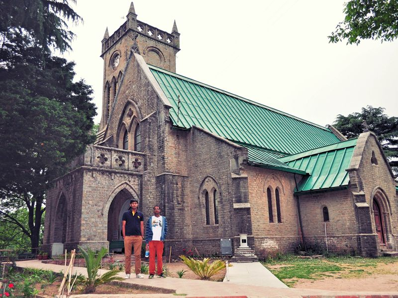 Christ Church Kasauli Tour Package with TripDezire for booking call us at 999 111 9350